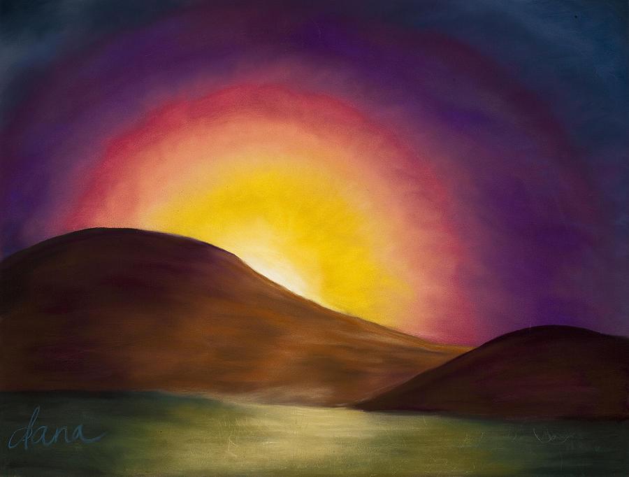 Sunrise Painting - Sunrise Sunset by Dana Strotheide