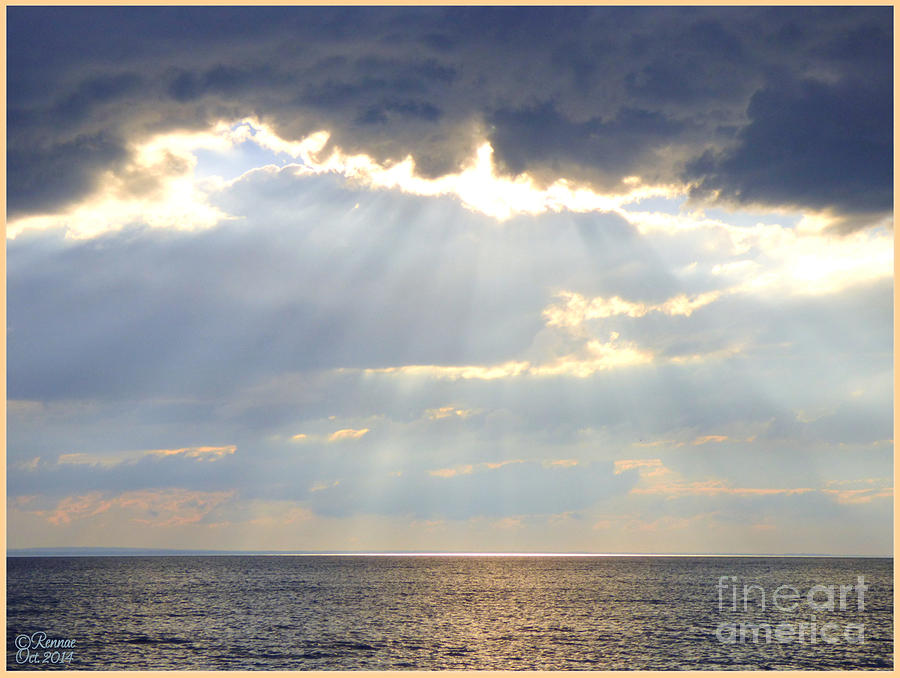 Nature Photograph - Suns Rays by Rennae Christman