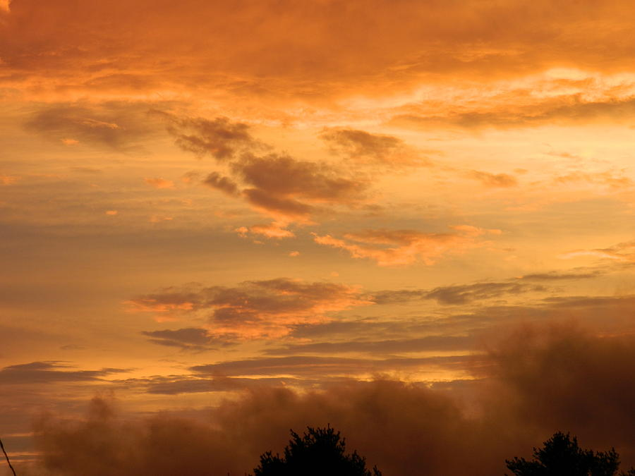 Sunset Photograph - Sunset After The Storm by Linda Brown