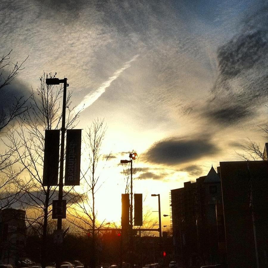 Ub Photograph - Sunset At Academic Center by Toni Martsoukos