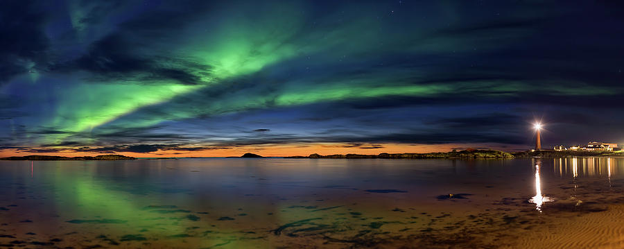 Aurora Photograph - Sunset At Andenes by Roy Samuelsen