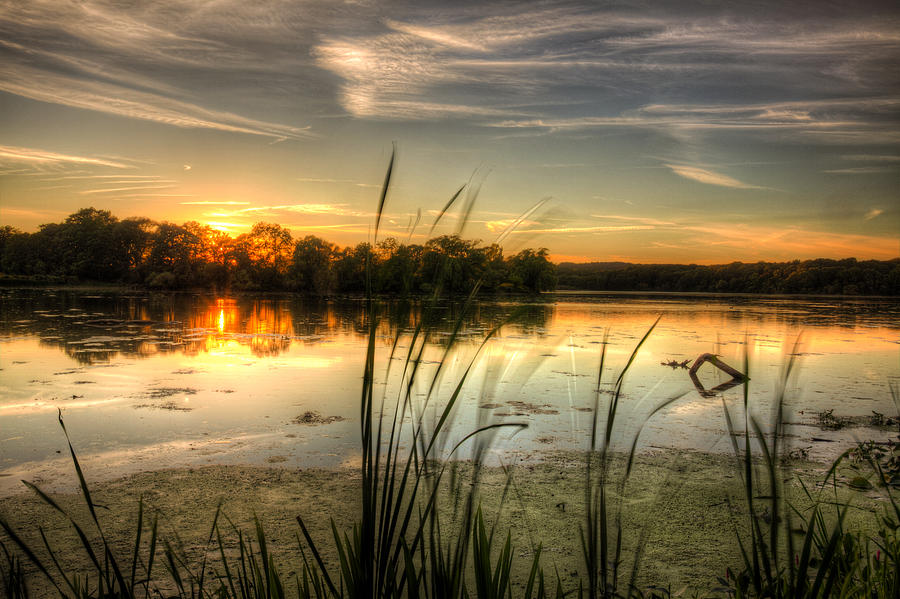 Canada Photograph - Sunset At Cootes Bay by Craig Brown