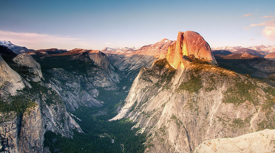 Tranquility Photograph - Sunset At Glacier Point by By Sathish Jothikumar