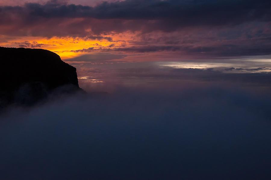 Sunset Photograph - Sunset At Nevado Del Ruiz by Jess Kraft