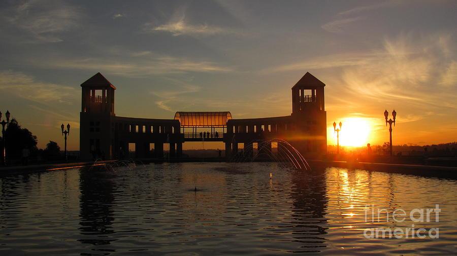 Sunset Photograph - Sunset at Parque Tangua by Greg Mason Burns