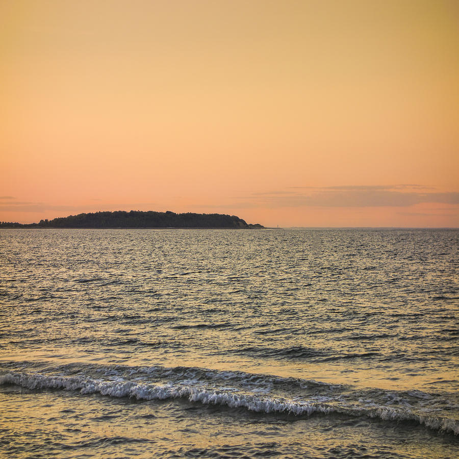 Plum Island Beach: Sunset At Plum Island Photograph By David Stone