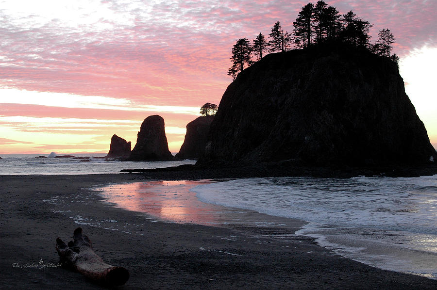 Sunset Photograph - Sunset At Rialto Beach 1 by Jill Westbrook