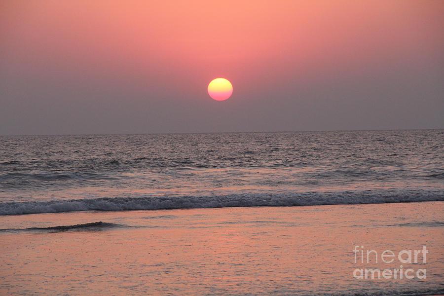 Sunset Photograph - Sunset At San Juan De Alima by Linda Queally