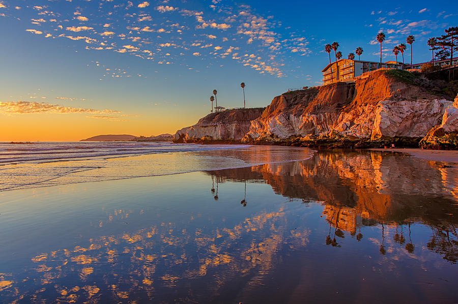 Sunset At The North End Of Pismo Beach Photograph by Mimi Ditchie Photography