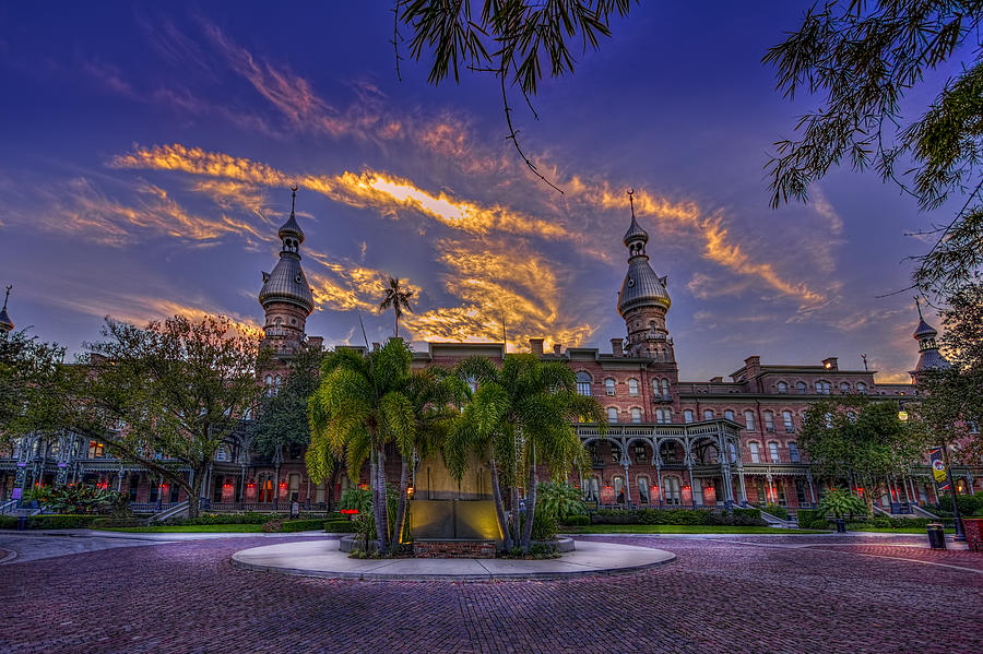 University Of Tampa Photograph - Sunset At U.t. by Marvin Spates