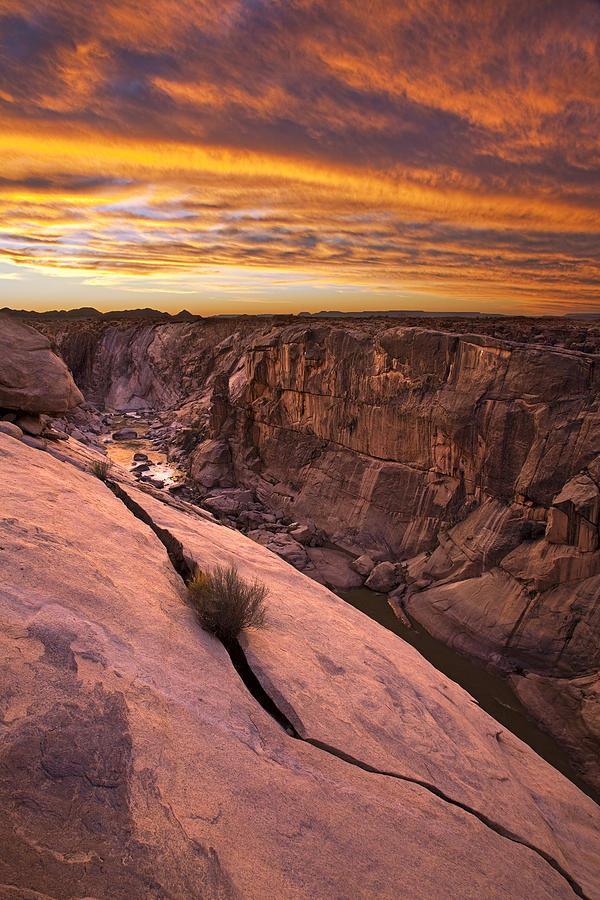 Sunset Augrabies Falls Park South Africa Photograph by Vincent Grafhorst