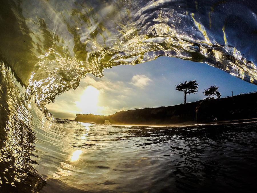 Sunset Photograph - Sunset Barrel by David Alexander