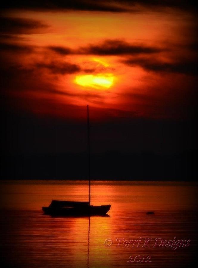 Sunset Photograph - Sunset Beauty by Terri K Designs
