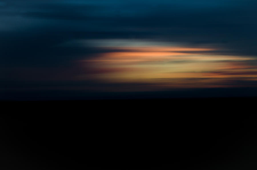 Sunset Photograph - Sunset Blur by Swift Family