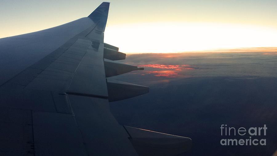 Sunset Breaking Through Photograph
