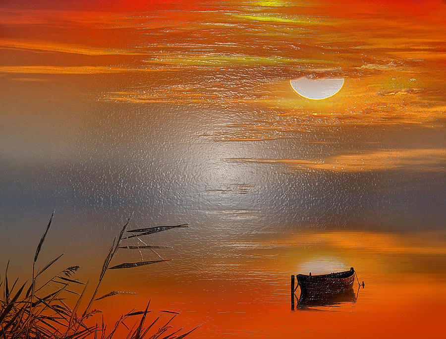 Sunset Charm 30 Landscape Wall Art Painting Pack Sunset