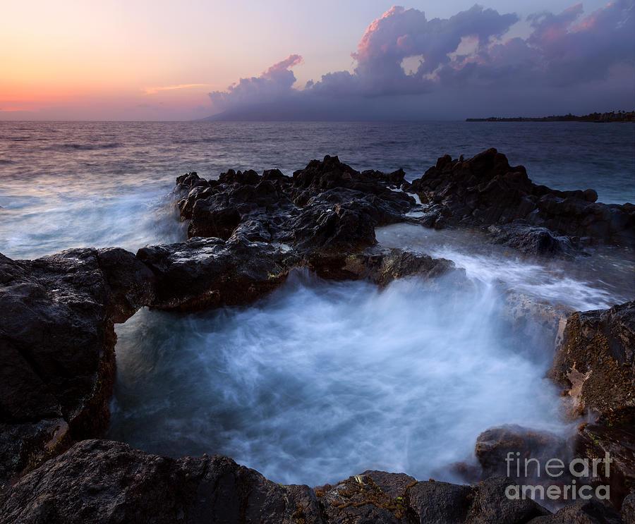 Churn Photograph - Sunset Churn by Mike Dawson