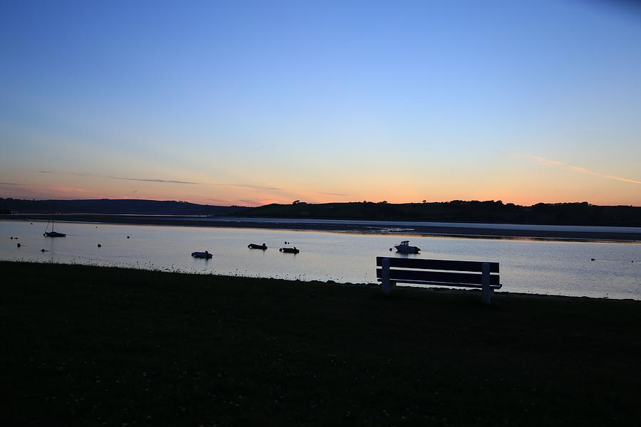 Sunset Photography Photograph - Sunset Courtmacsherry Co Cork by Maeve O Connell