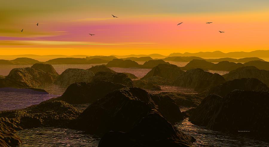 Sunset Cove- by Robert Orinski