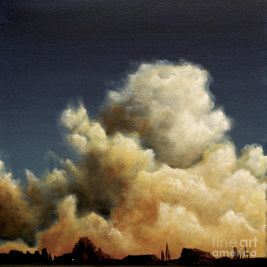 sunset cummulus clouds by Ric Nagualero