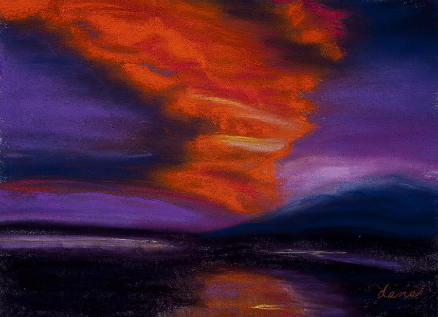 Sunset Painting - Sunset by Dana Strotheide
