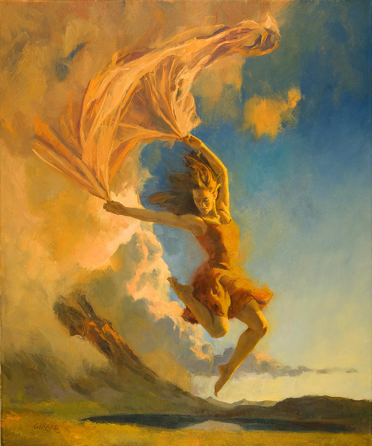Sunset Dance Painting by Francois Girard