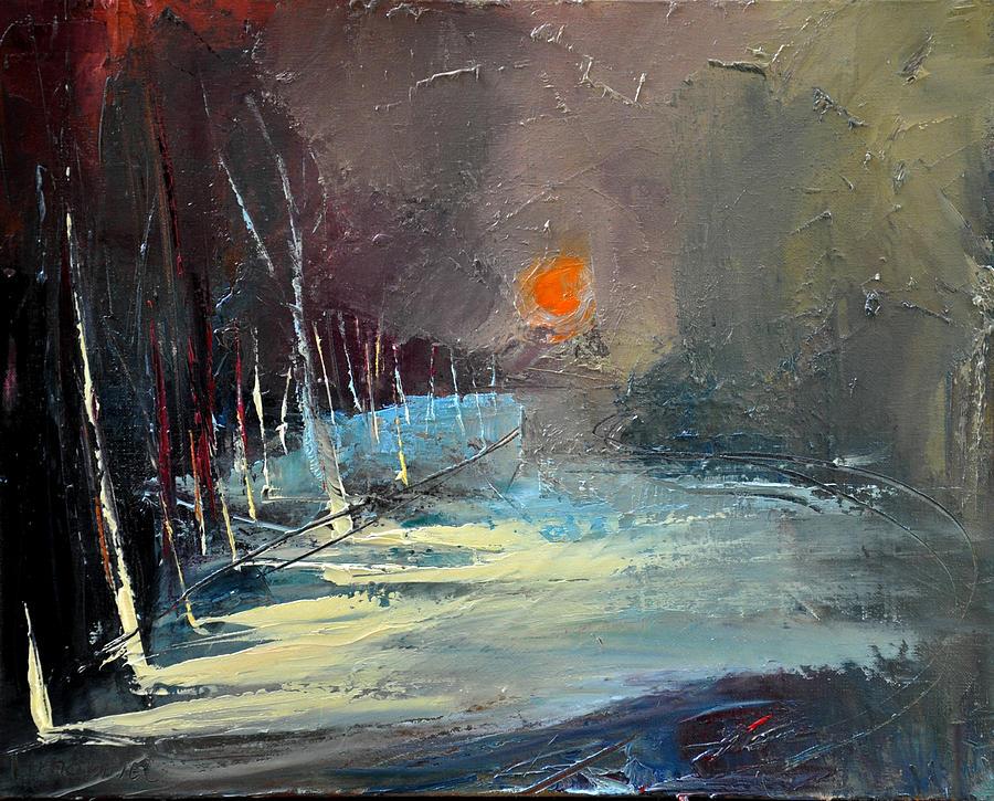 Sunset Painting - Sunset by David Figielek