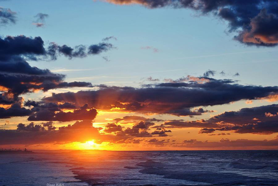 Sunset Photograph by Diaae Bakri
