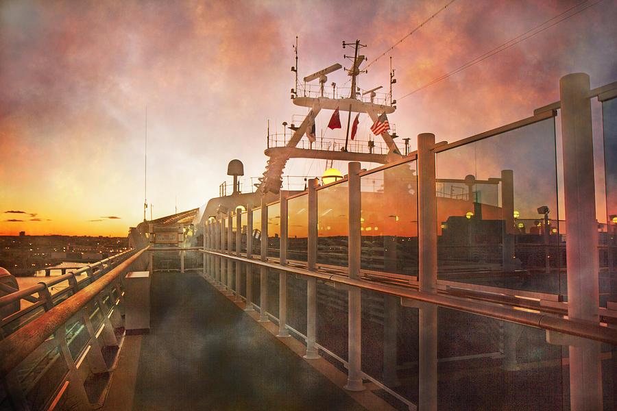 Sunset Photograph - Sunset by Betsy Knapp