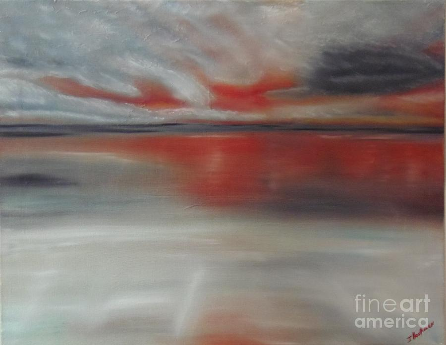 Sunset Painting - Sunset Glow by Isabel Honkonen