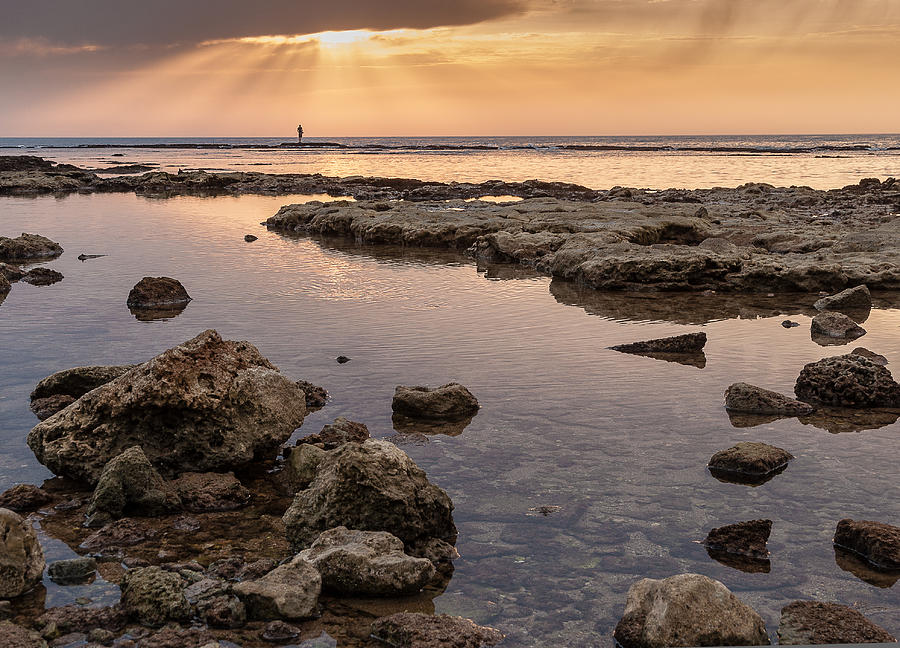 Middle East Photograph - Sunset In Acre by Sergey Simanovsky