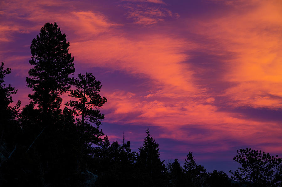 Boulder Photograph - Sunset In Colorado by Greg Mionske