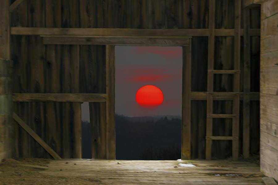 Sunsets Photograph - Sunset In Leraysville by David Simons