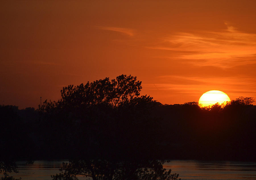 Sunsets Photograph - Sunset In Music City by Joe Bledsoe