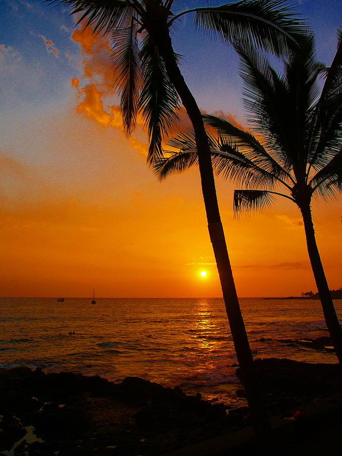 Sunset Photograph - Sunset In Paradise by Athala Carole Bruckner
