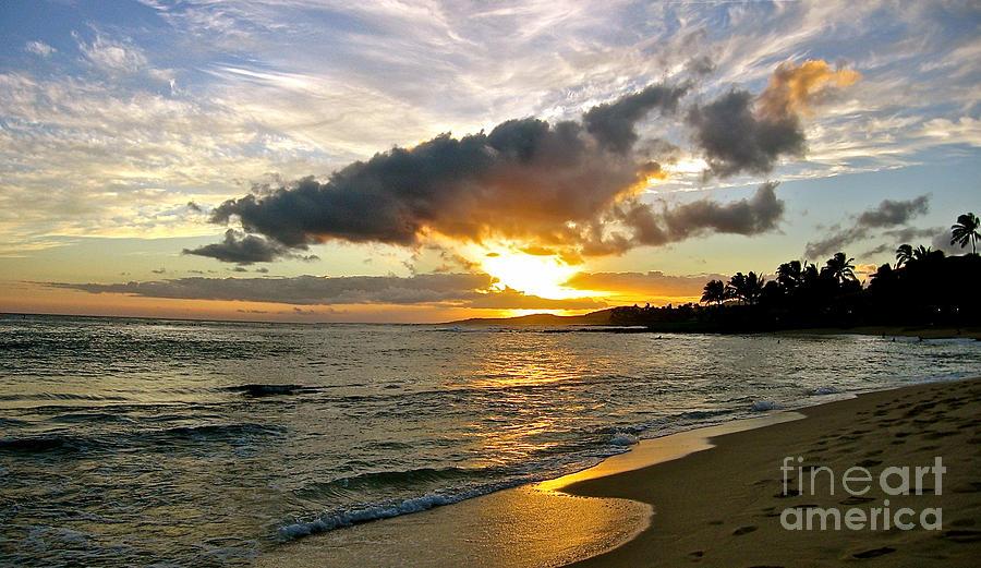 Landscape Photograph - Sunset in Paradise by Jason Clinkscales