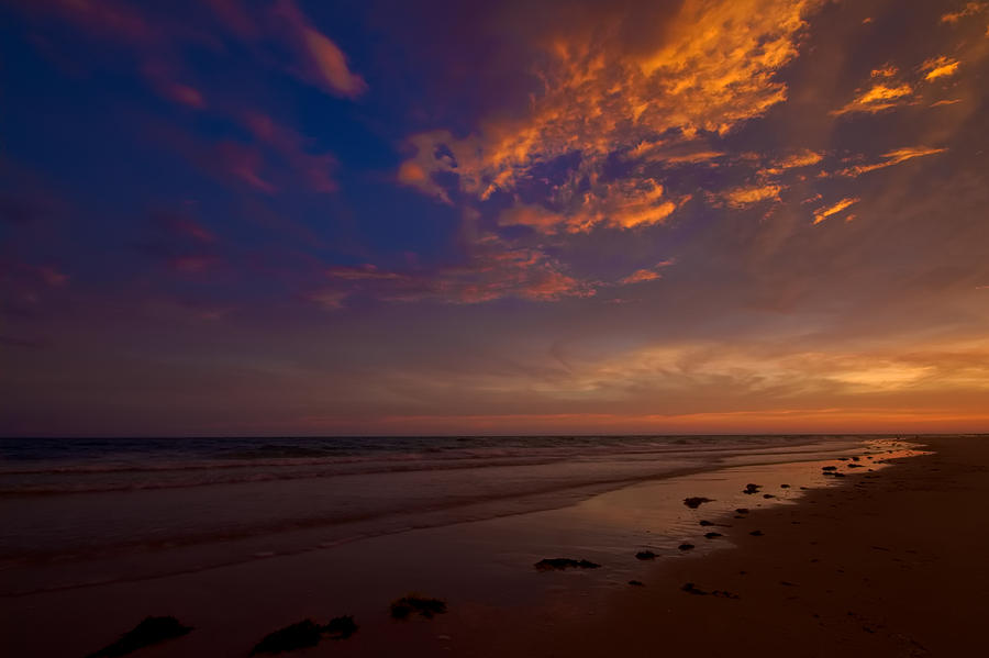 Beach Photograph - Sunset In Playa Encanto by Robert Bascelli