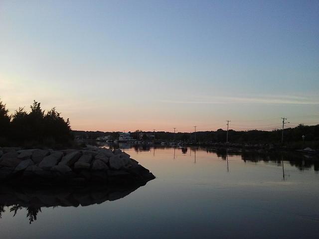 Sunset Photograph - Sunset In Rhode Island by Anastasia Konn