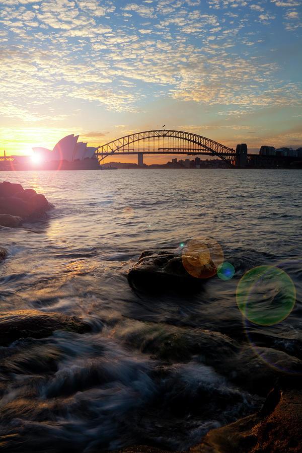 Sunset In Sydney Photograph by Simonbradfield