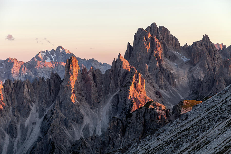 Sunset In The Dolomites Photograph by Senorcampesino