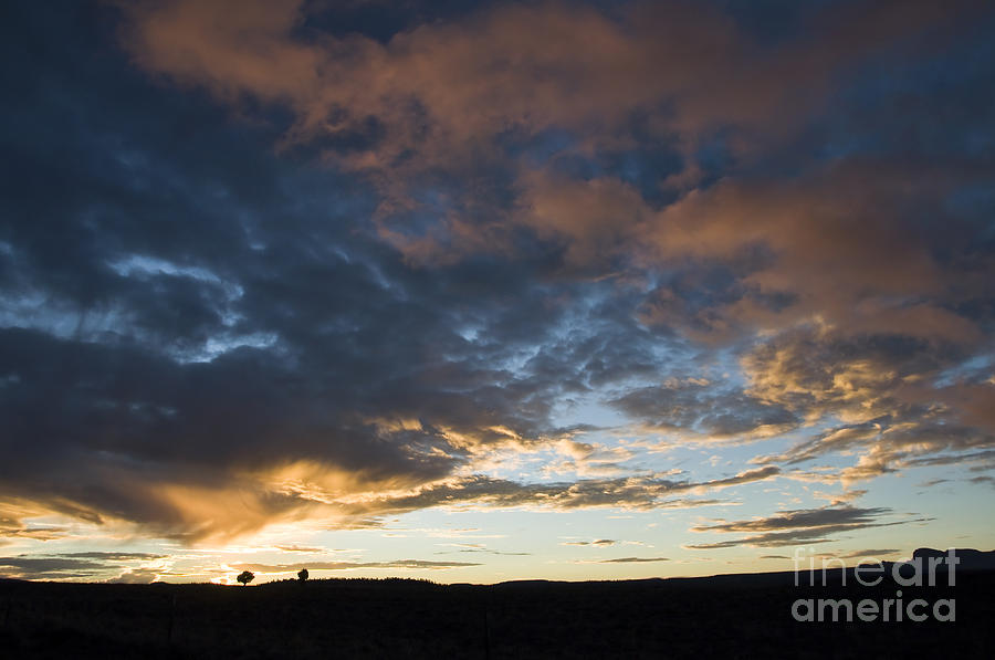 Sunset Photograph - Sunset In Utah by Delphimages Photo Creations