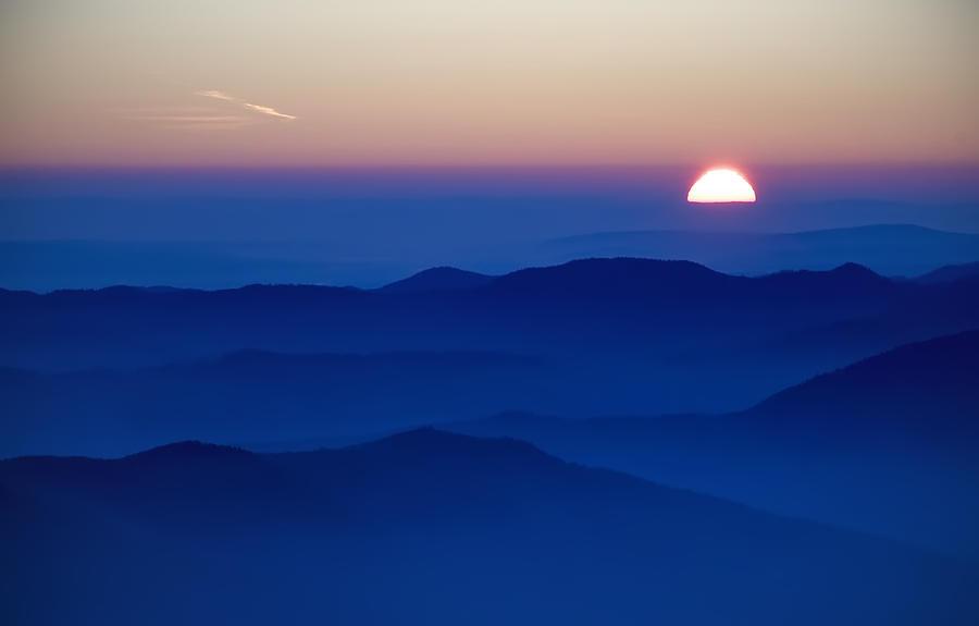 Alpine Photograph - Sunset by Ioan Panaite
