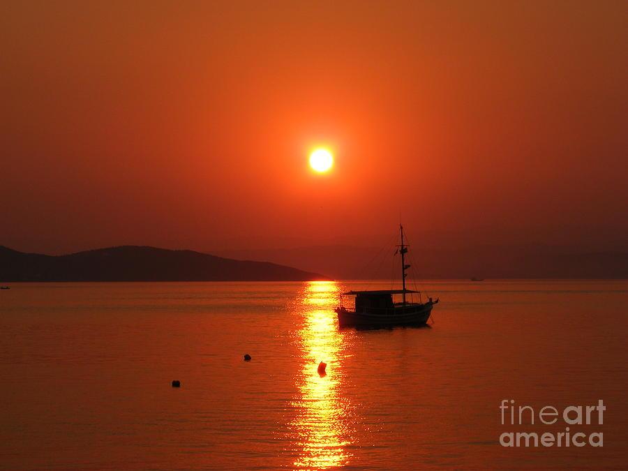Sunset Photograph - Sunset by Laurentiu Pavel