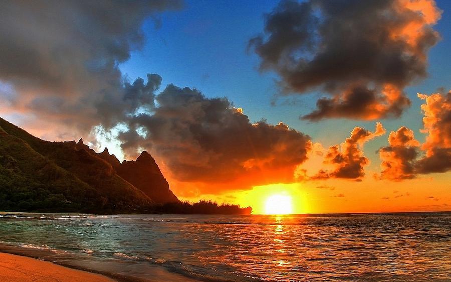 Sunset Photograph - Sunset by Michael Koratich