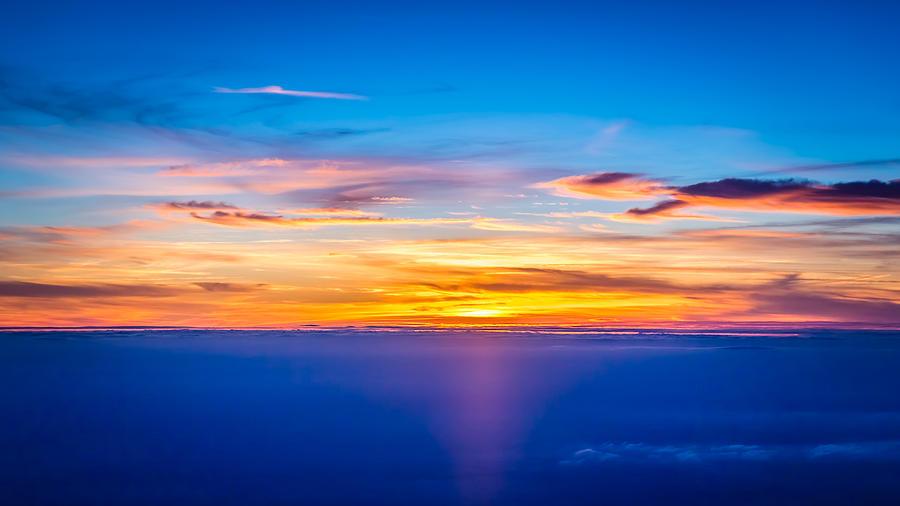 Sky Photograph - Sunset by Neah Falco