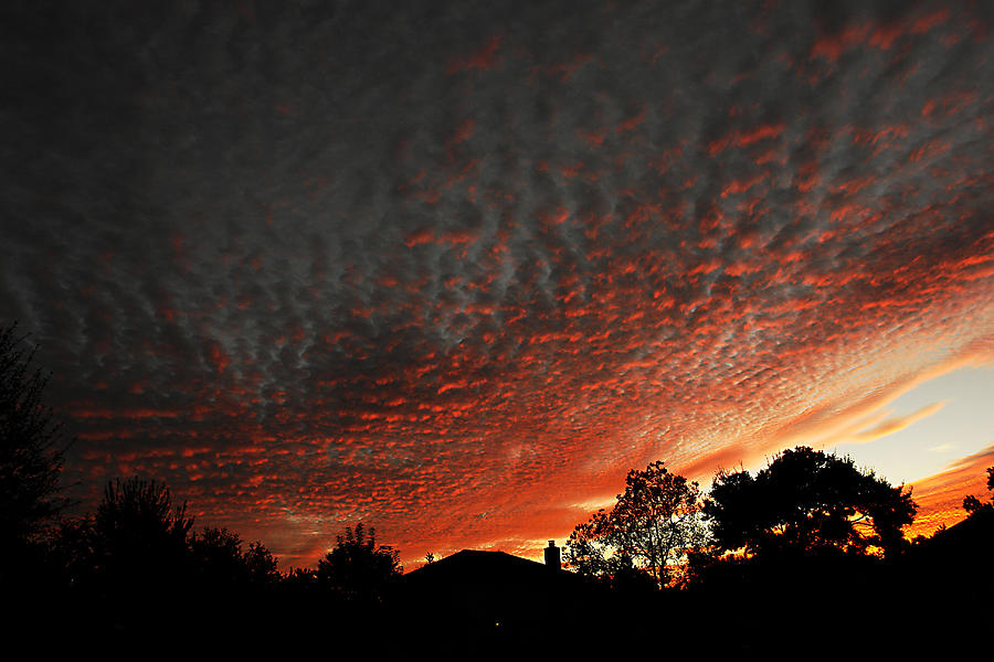 Sunset October 17 by Brandy Beverly