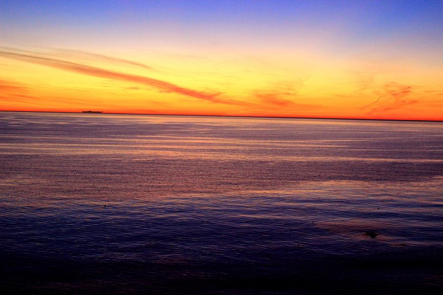 Sunset Photograph - Sunset Off Point Vicente by Eve Paludan