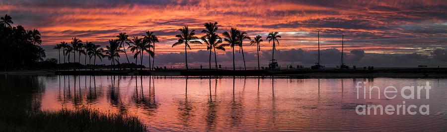 Sunset on the Beach by James L Davidson