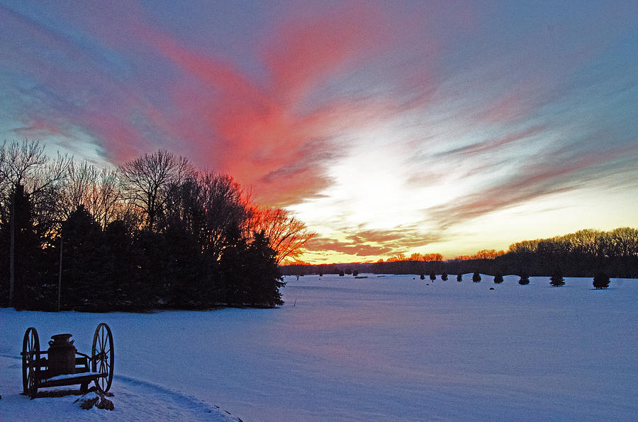 Sunset On The Golf Course Photograph by Dan  Meylor