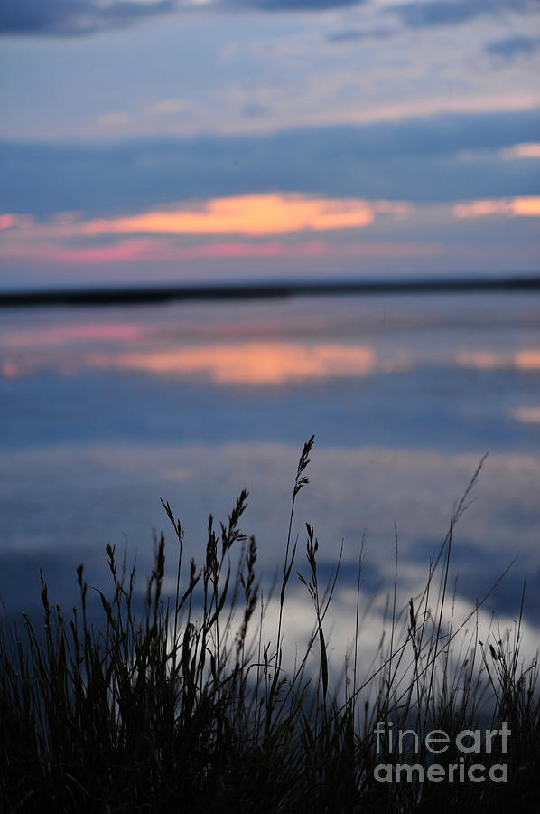 Sunset Photograph - Sunset On The Lake by Birches Photography